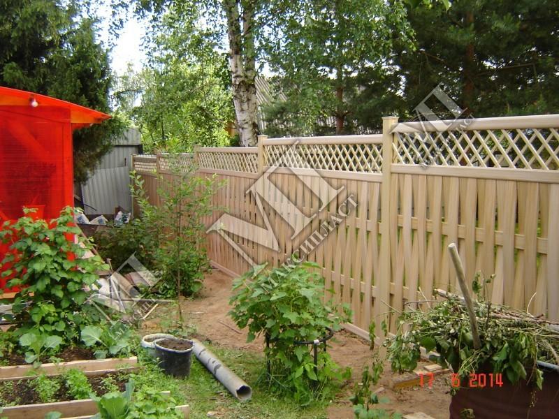Забор дачного участка своими руками фото 8