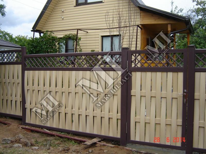 Забор для частного дома своими руками фото 95