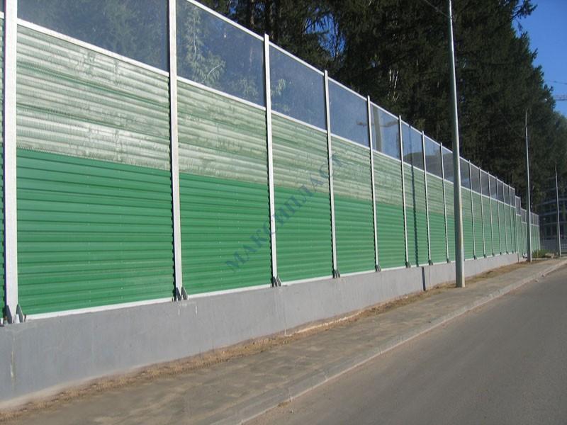 Забор для шумоизоляции своими руками 54